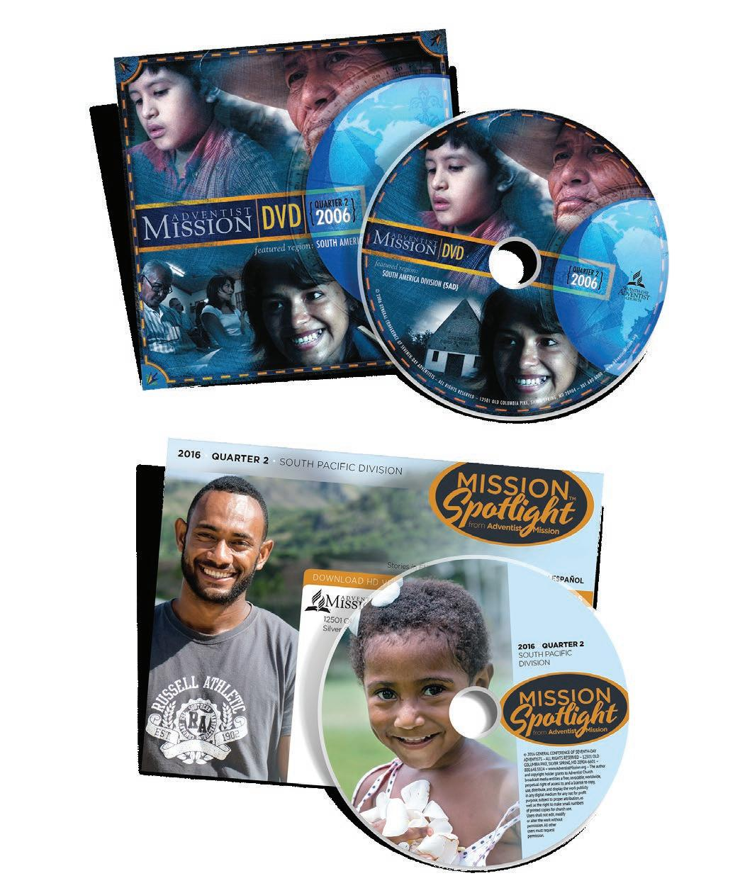 Page 18 of Ten Years of the Adventist Mission DVD
