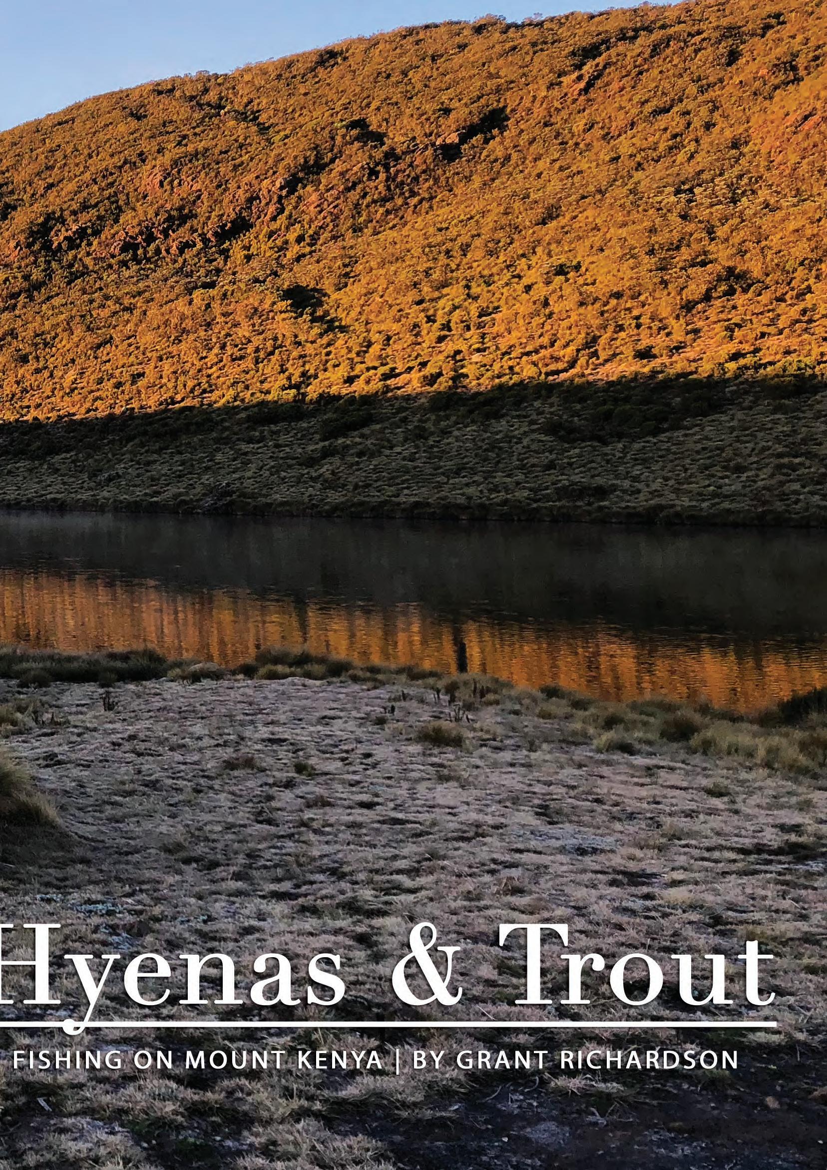 Page 8 of Fishing on Mount Kenya