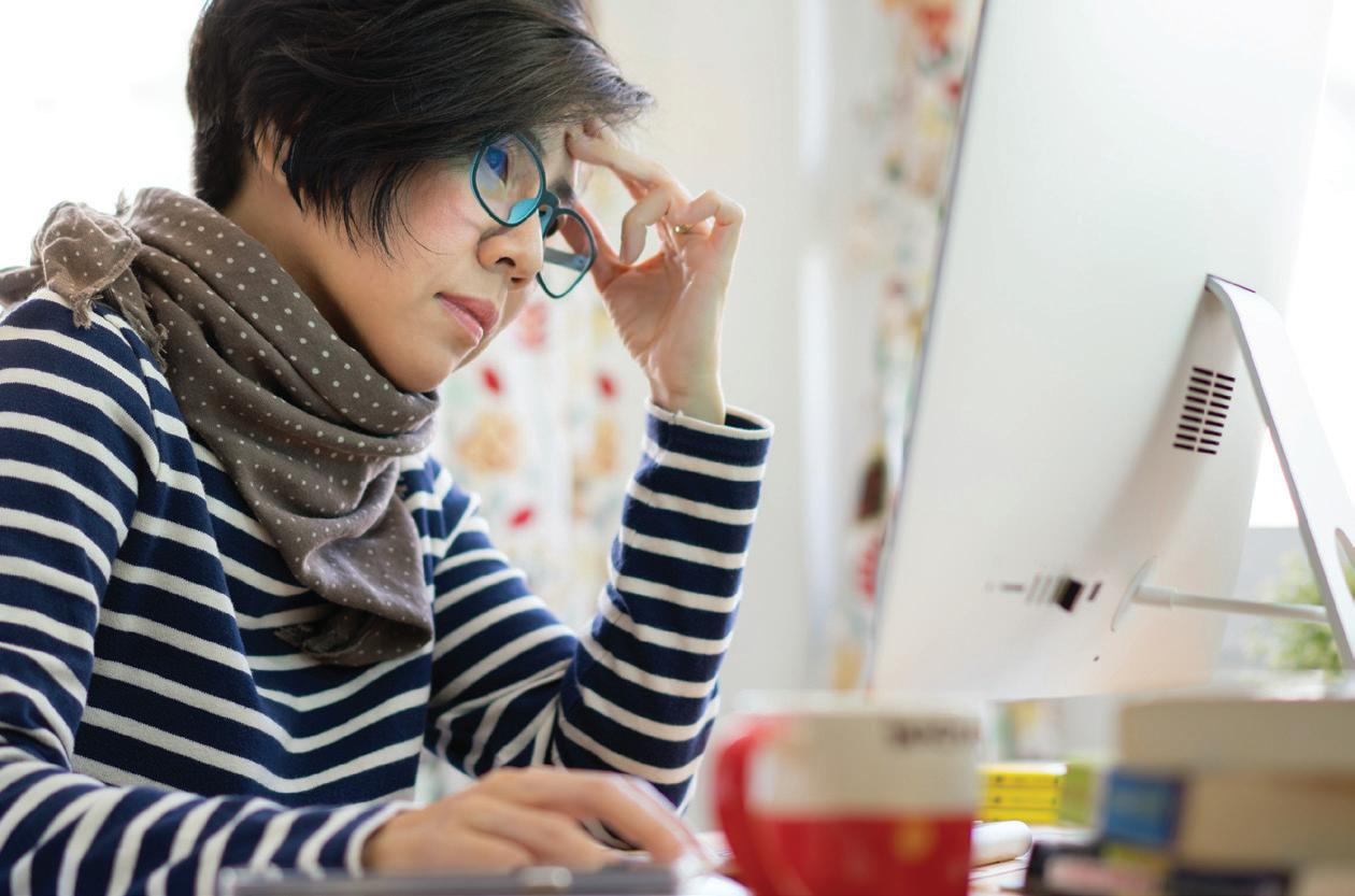 Read story: Eye Strain in the Digital Age