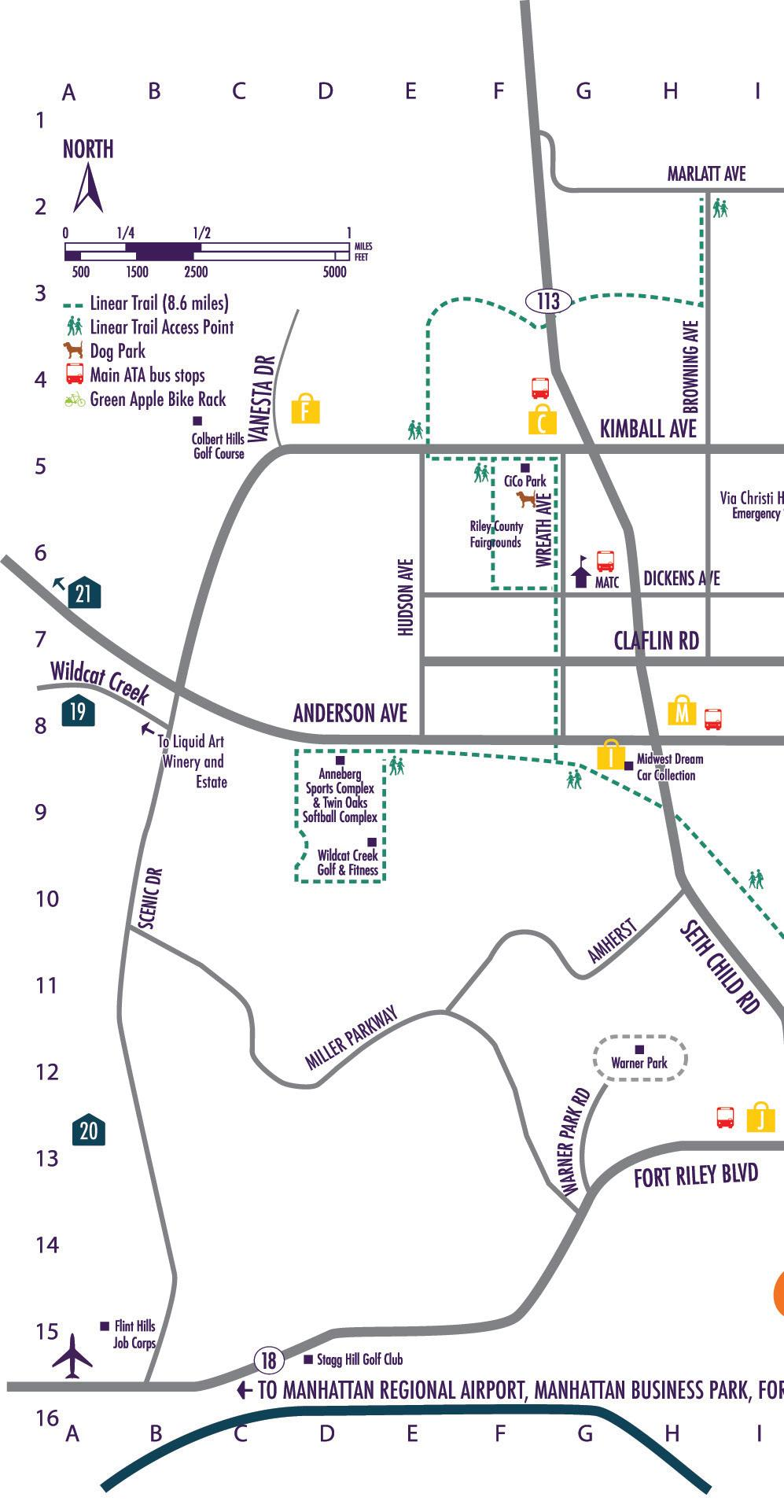 Page 46 of Shopping and Lodging Map