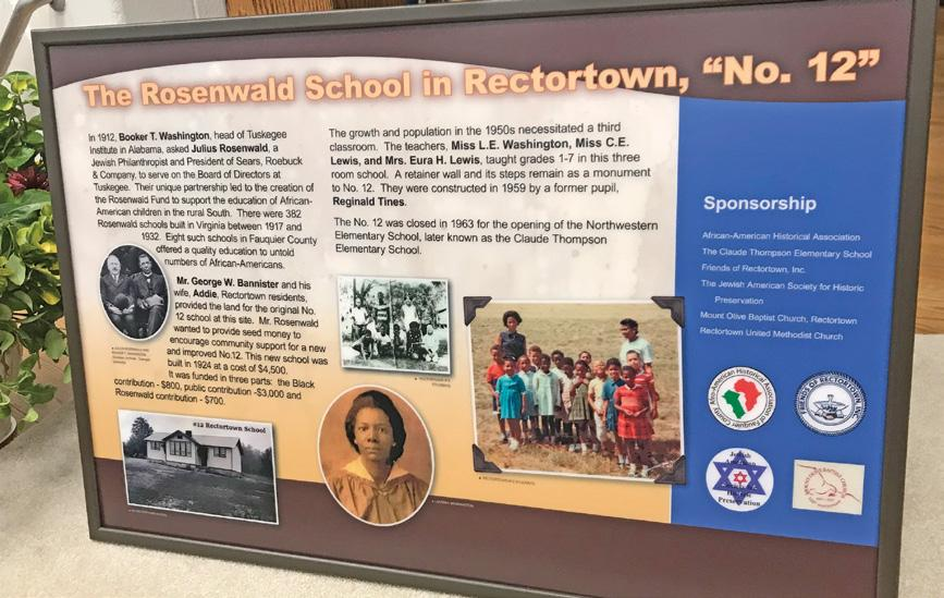Page 3 of Remembering Rectortown No. 12, a Historic Rosenwald School