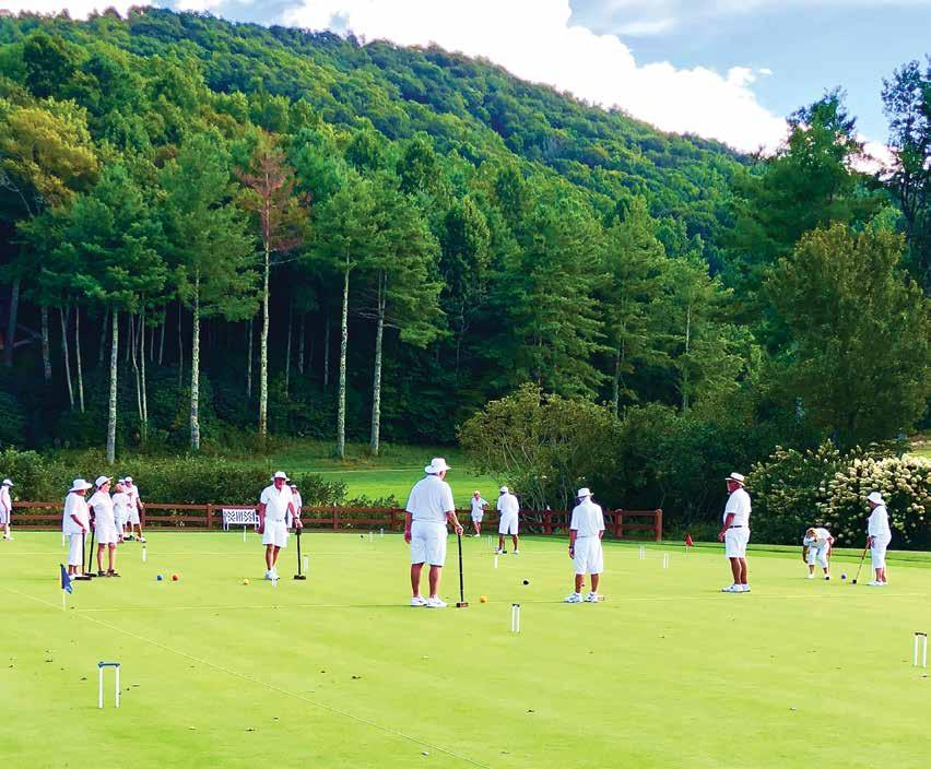 Page 24 of Club Profile: Sky Valley Croquet Club
