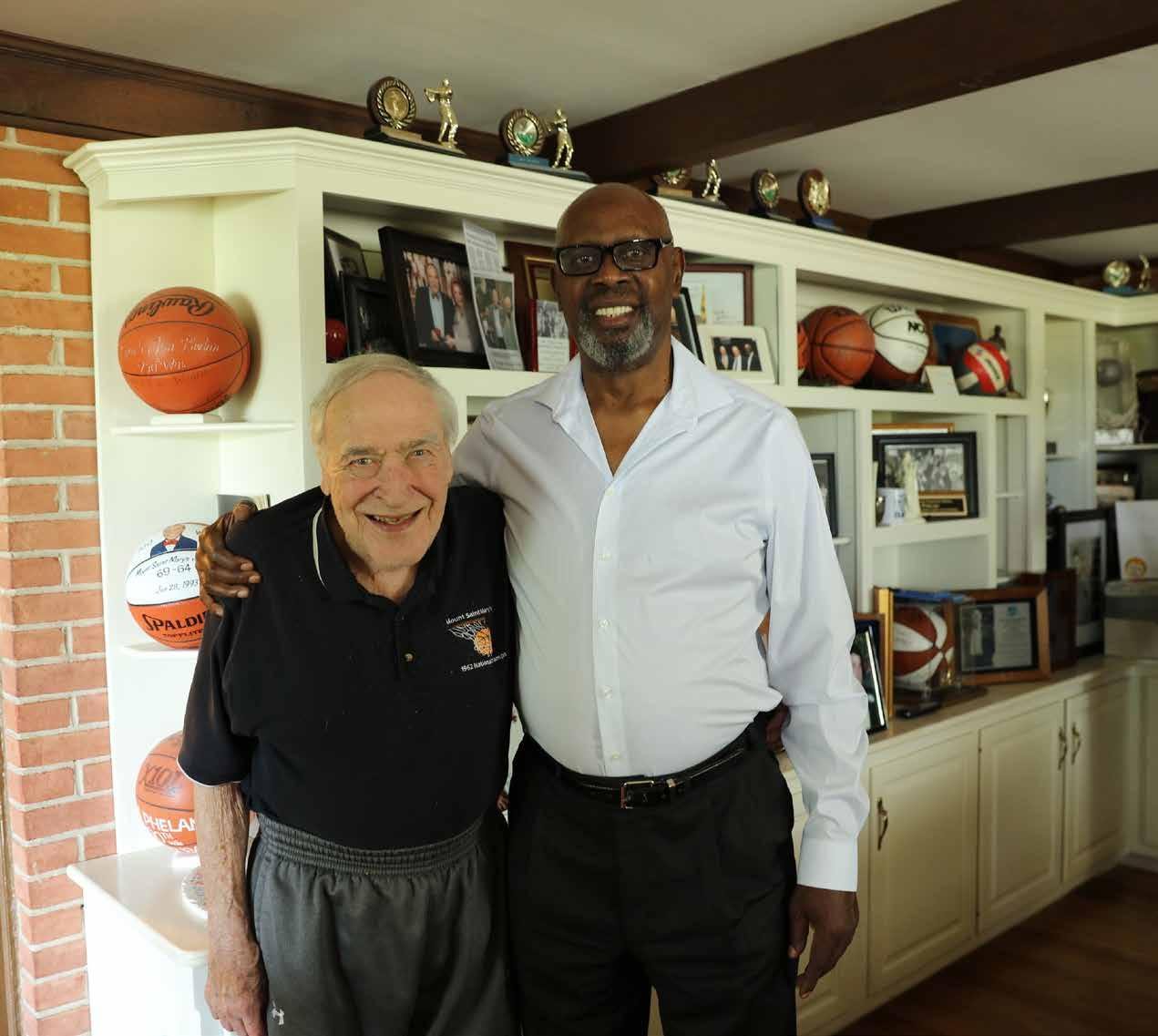 Page 14 of FRED CARTER, C'69, AND COACH JIM PHELAN