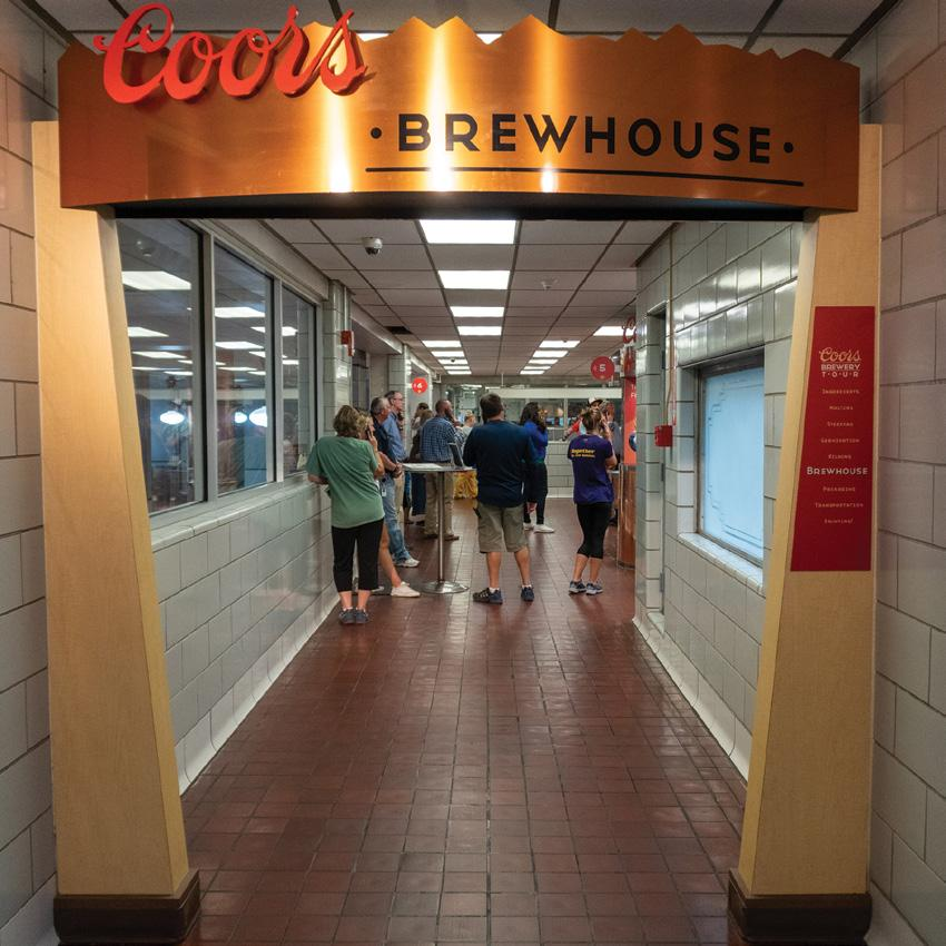 Page 36 of 2020 COORS BREWERY TOUR
