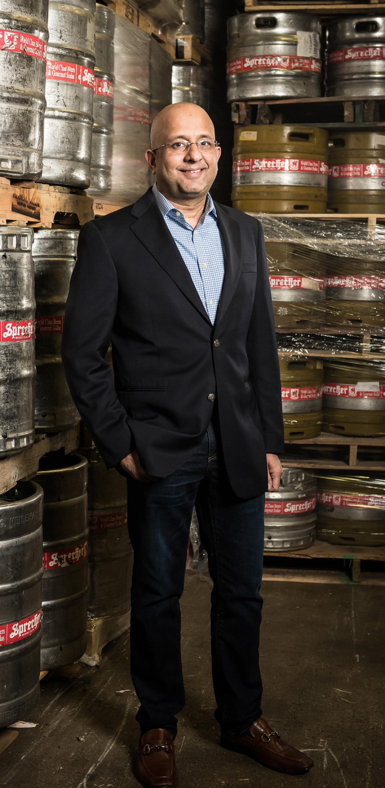 Page 16 of THE INTERVIEW: SHARAD CHADHA, SPRECHER BREWING'S NEW CEO