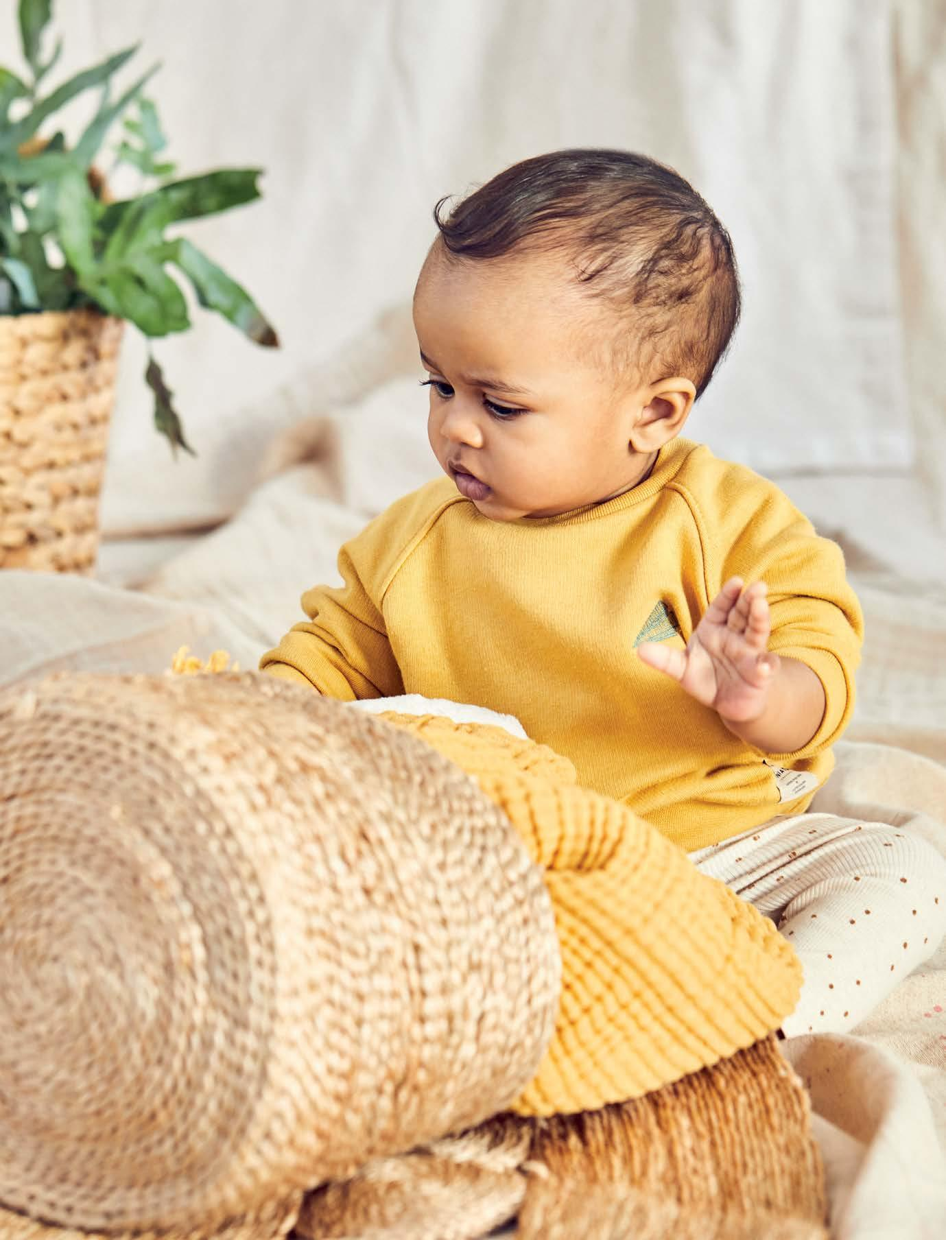 Page 36 of ALL NATURAL Dress your little one up in super-soft, breathable cottons, linens and knits in soft tones this springtime