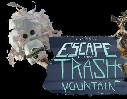 Page 22 of Escape from Trash Mountain Tuesday 31 March