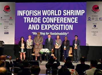 Page 16 of INFOFISH World Shrimp Trade Conference and Exposition, November 2019, Bangkok