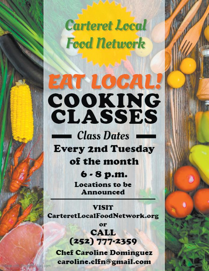 Page 14 of Carteret Local Food Network Offers Cooking Classes