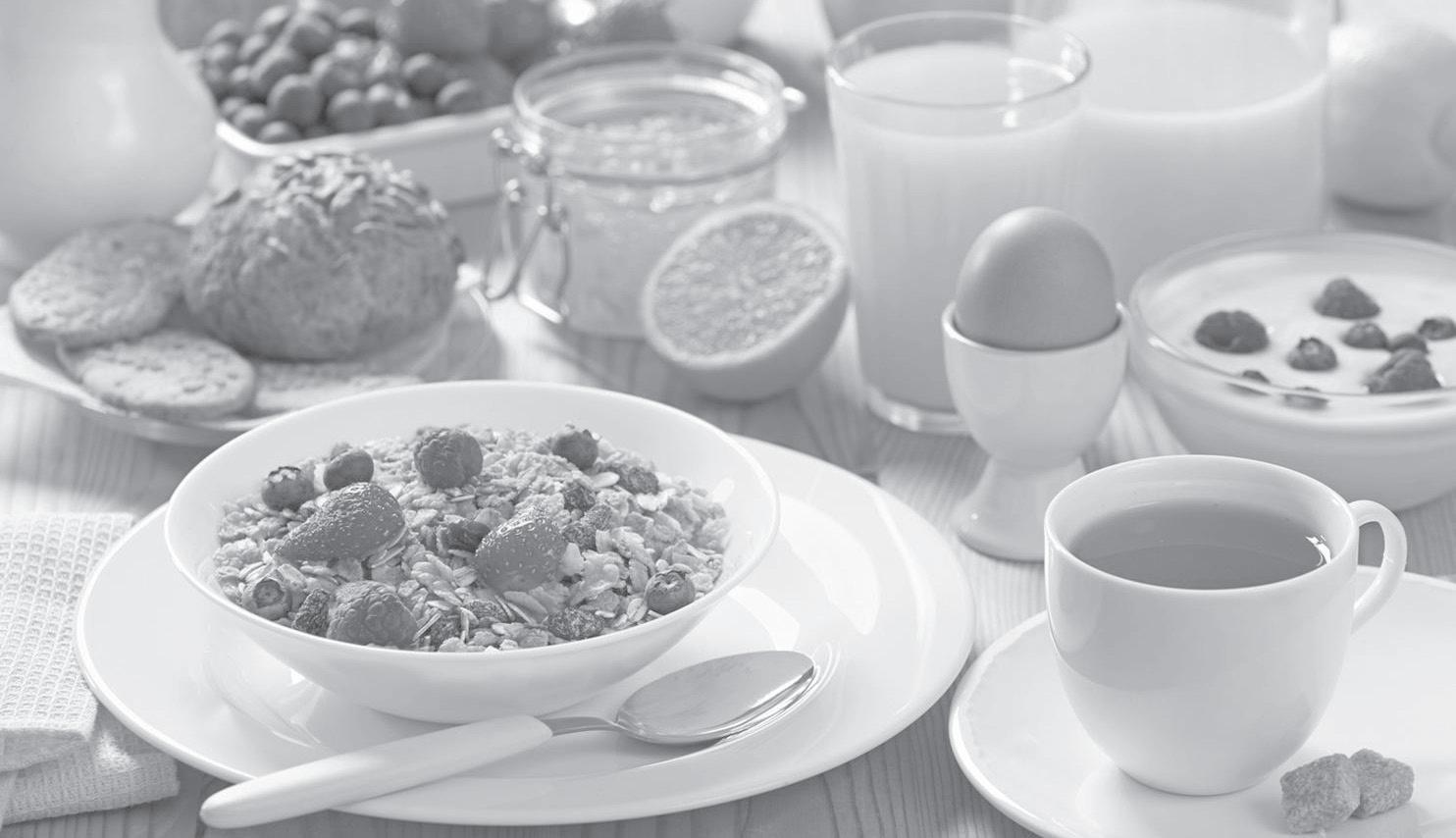 Page 7 of El desayuno debe aportar el 25% de las necesidades energéticas diarias e incluir cuatro