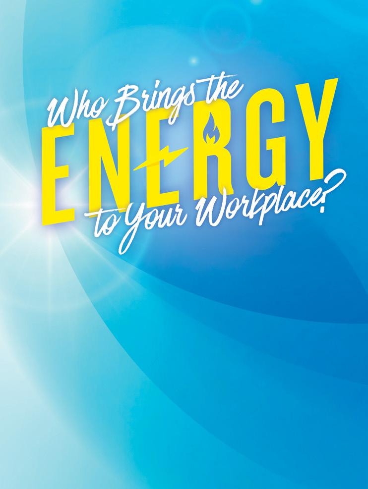 Page 34 of WHO BRINGS THE ENERGY TO YOUR OFFICE?