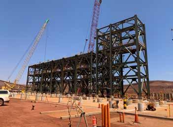 Page 34 of Fluor commences construction of South Flank ore handling plant