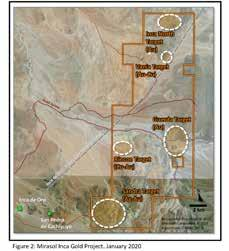 Page 40 of Mirasol to acquire Inca Gold Project