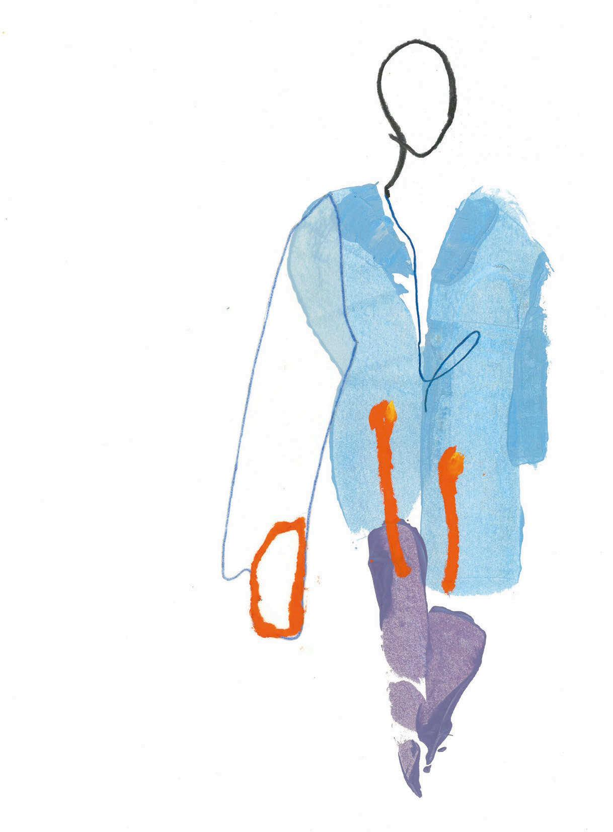 Page 34 of slow fashion in all its forms FEATURE Fall in love with Lara Mackenzie Lee's abstract fashion illustrations