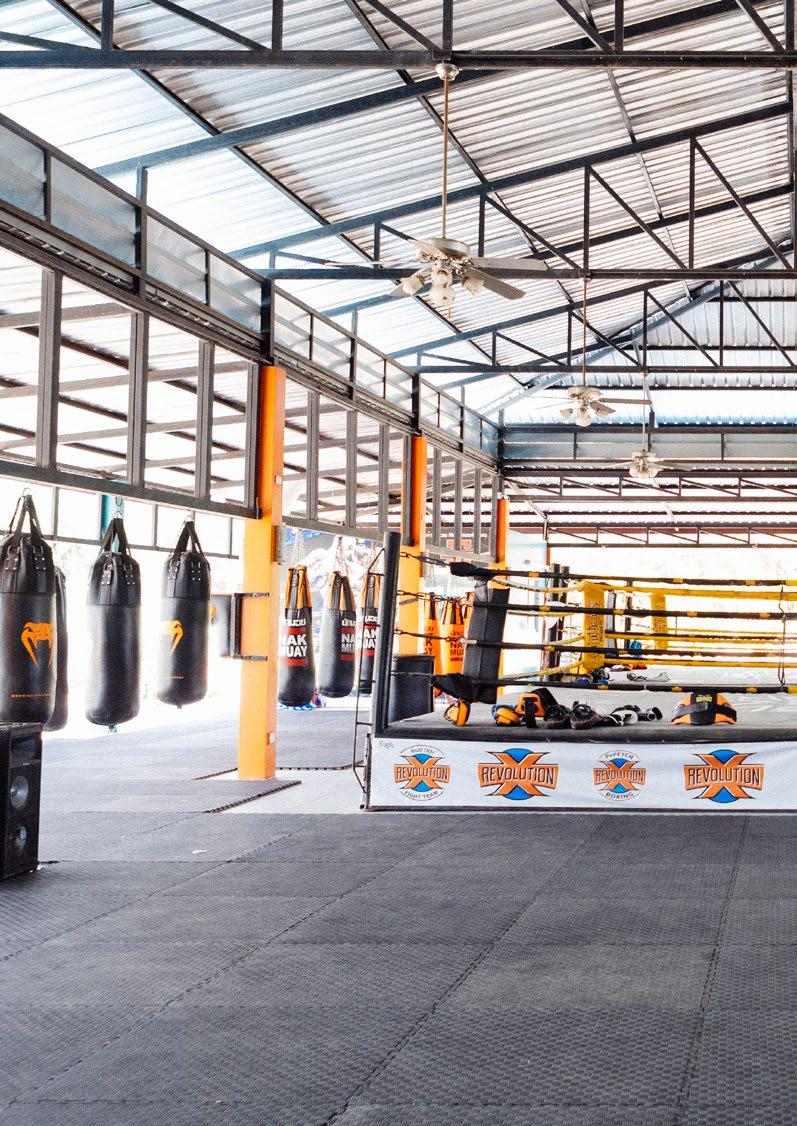 Page 32 of GYM REPORT REVOLUTION MUAY THAI CAMP