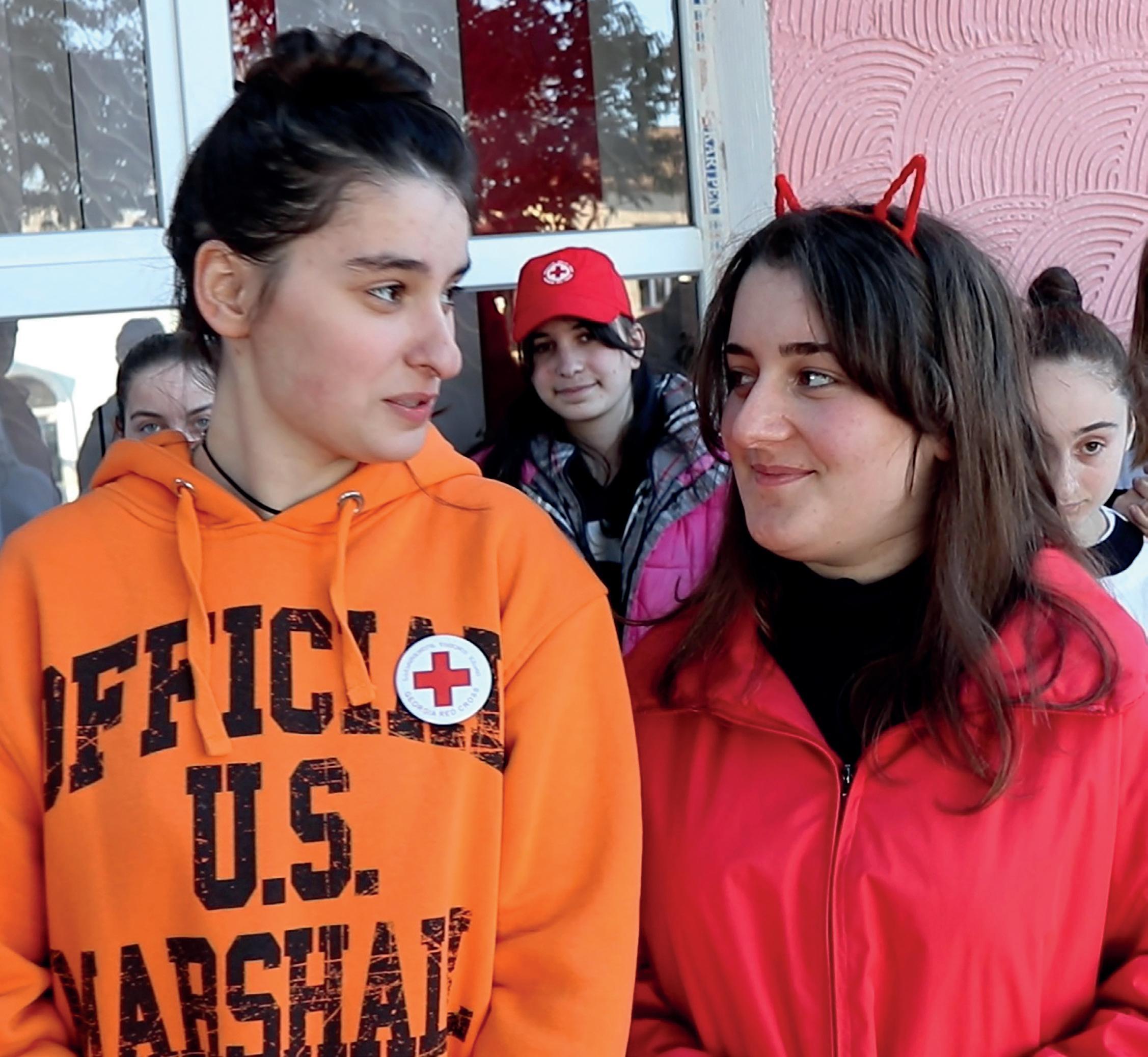 Page 18 of INTERNASJONALT SAMARBEID Nye vener i Georgia