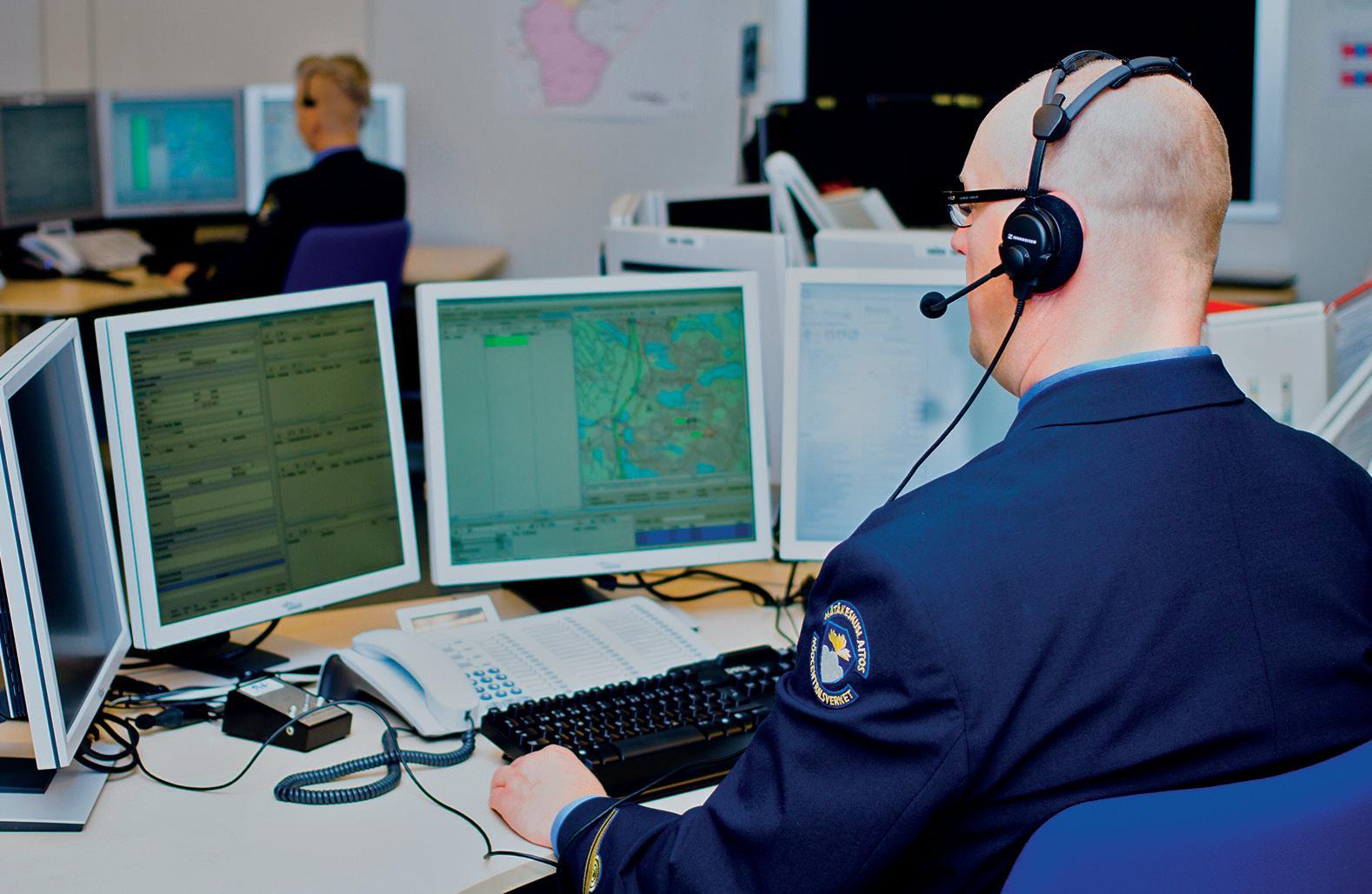 Page 17 of HÄTÄKESKUS Hätäkeskuspäivystäjän työ vaatii rautaista ammattitaitoa