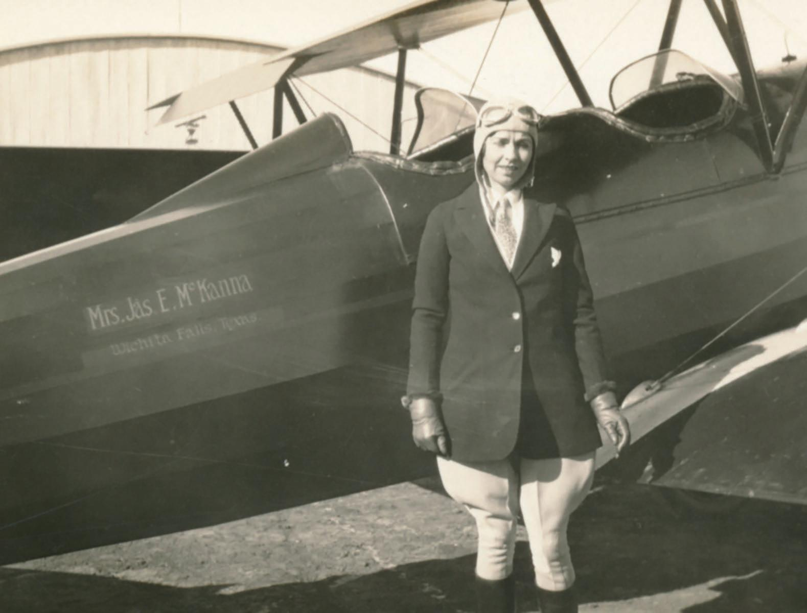 Page 24 of Edith W. McKanna, Scurry County's Pioneer Aviator