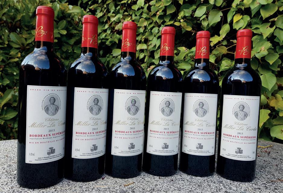 Page 54 of Château Miller La Cerda: ¡Un vino de Burdeos... y de mucha herencia