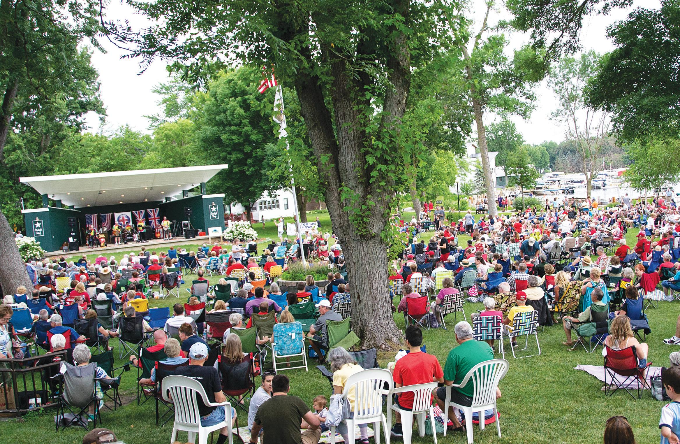 Page 22 of Concerts in the Park, Green Lake, WI