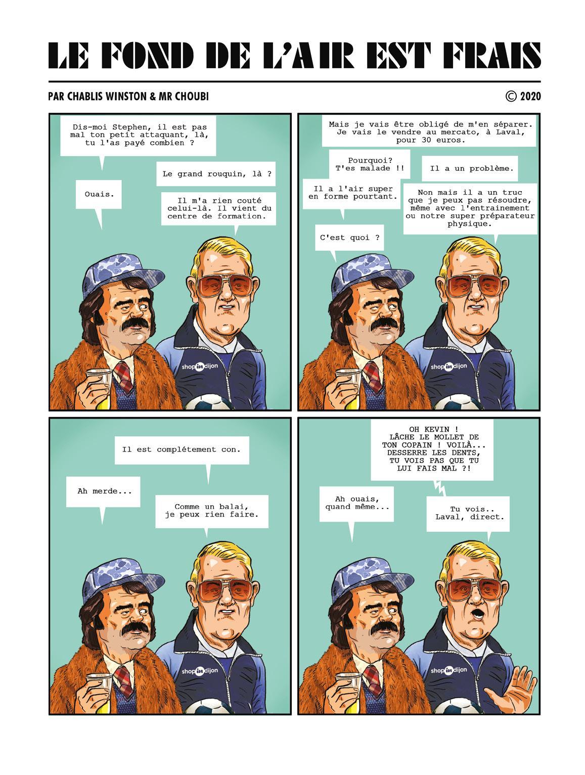 Page 12 of LE FOND DE L'AIR EST FRAIS