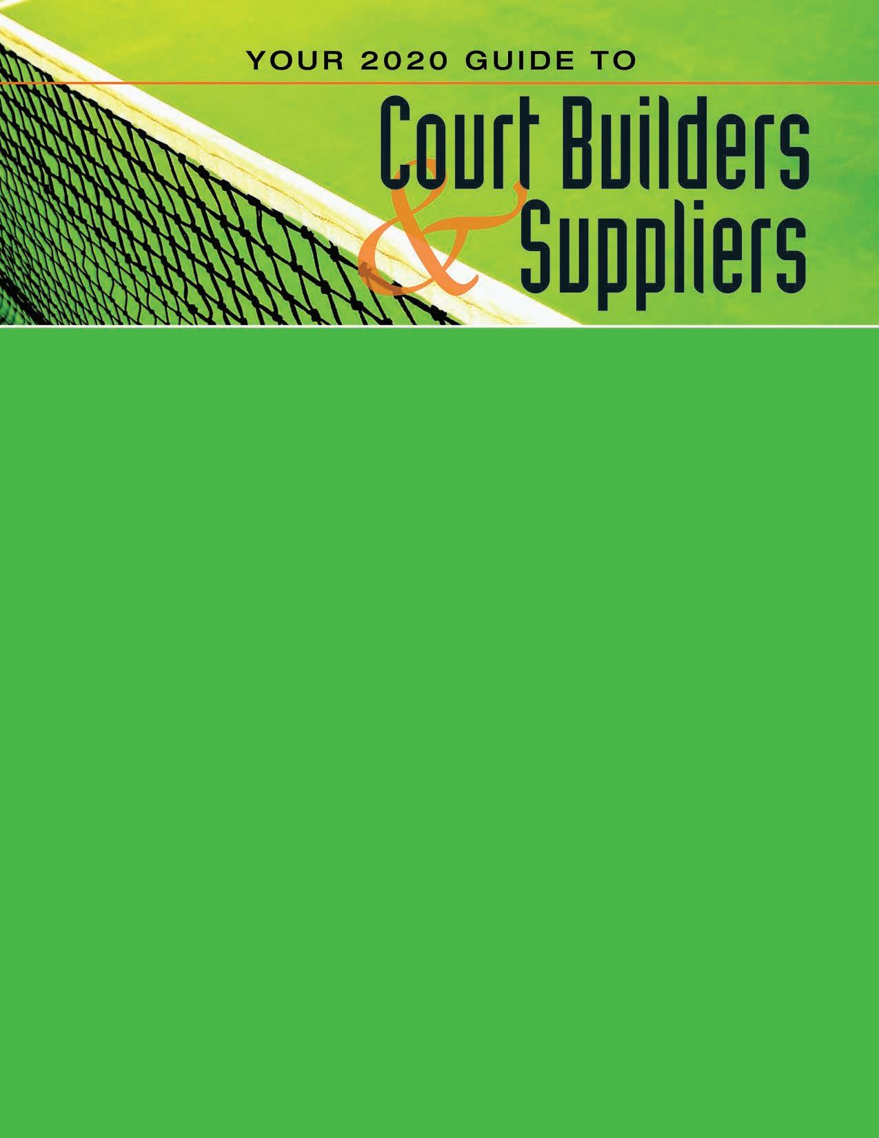 Page 62 of Your 2020 Guide to Court Builders and Suppliers