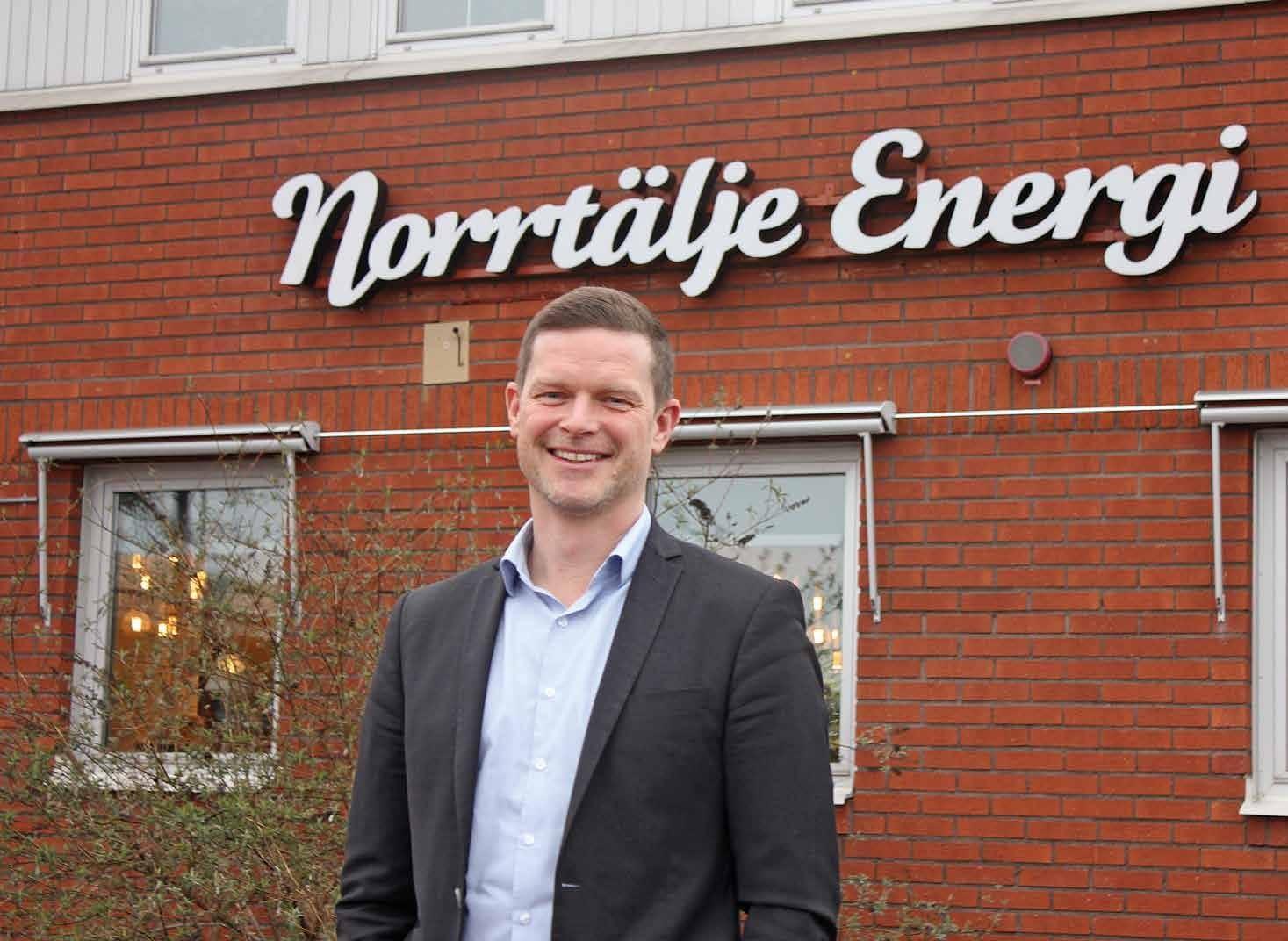 Page 16 of Tobias tar över ledningen för Norrtälje Energi