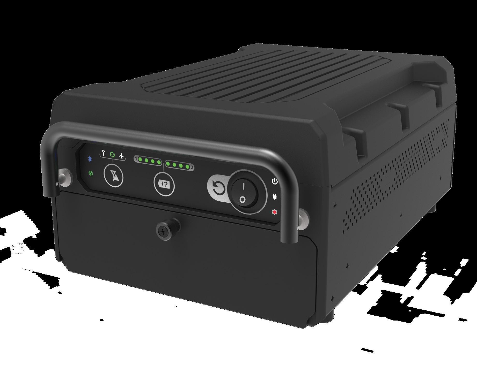 Page 36 of PORTABLE POWERHOUSE Producers of portable IFE need more than a rugged, reliable product and Astronics has sought to feed the all-important needs of airlines for a cost-effective nimble design in its award-winning Sierra solution