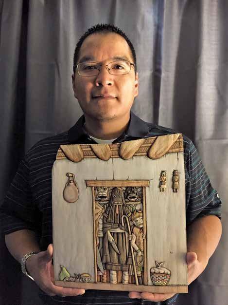 Page 64 of Mavasta Honyouti: Hopi Woodcarver
