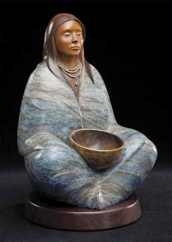 Page 44 of Mettle to Metal: Native Women Sculptors Reign and Pour