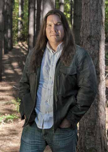 Page 100 of Art+Literature: Waubgeshig Rice: Wasauksing Ojibwe Author & Journalist