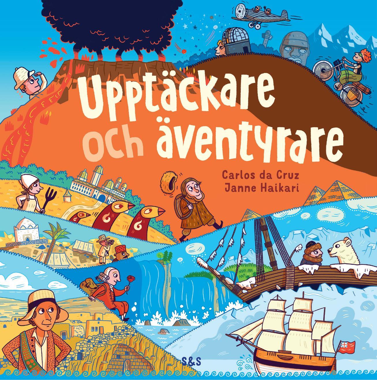 Page 32 of Janne Haikari & Carlos da Cruz Upptäckare ochäventyrare