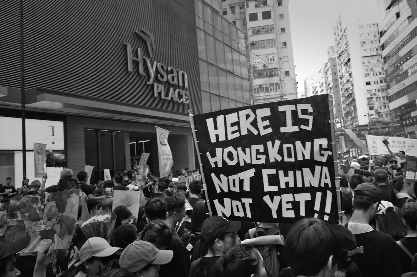 Page 10 of Liberate Hong Kong': For who and for what?