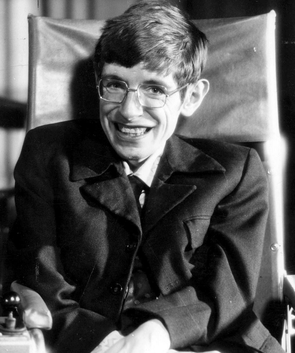 Page 44 of Conoce tu cielo queretano, Stephen Hawking
