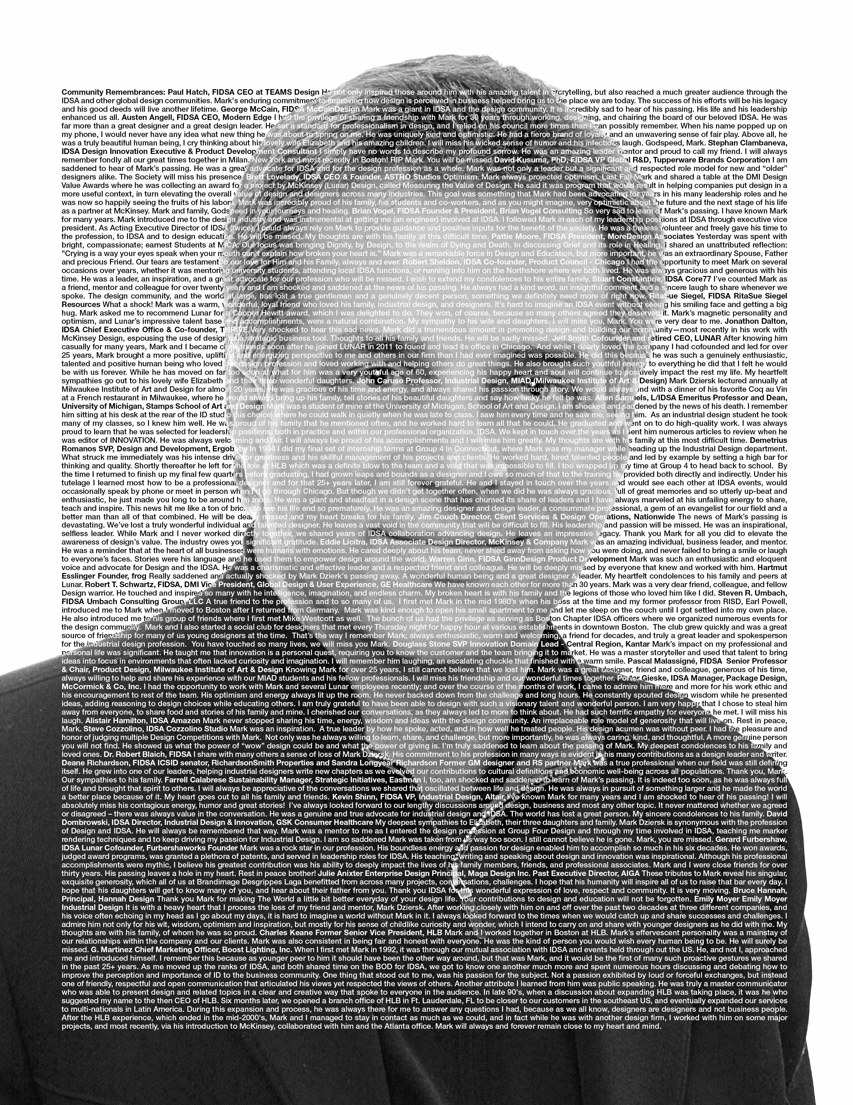 Page 10 of Tribute: Mark Dziersk, FIDSA