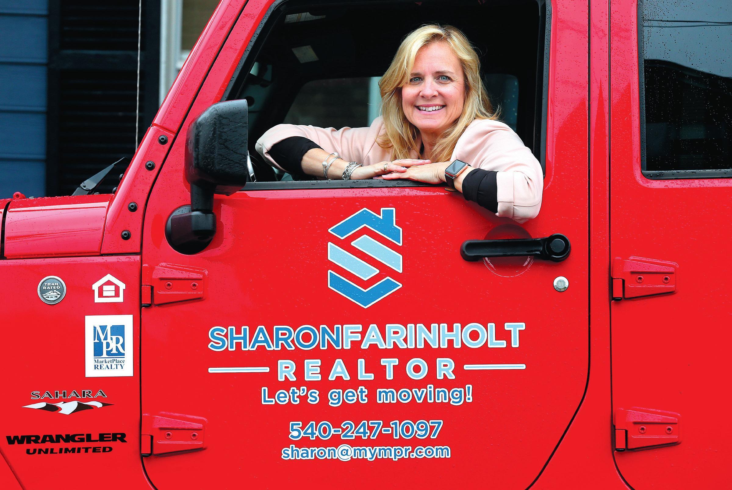 Page 10 of Career change: Sharon Farinholt