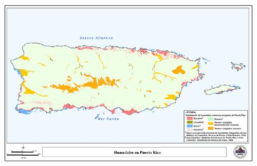 Page 58 of Posibles impactos del cambio climático sobre los humedales en Puerto Rico