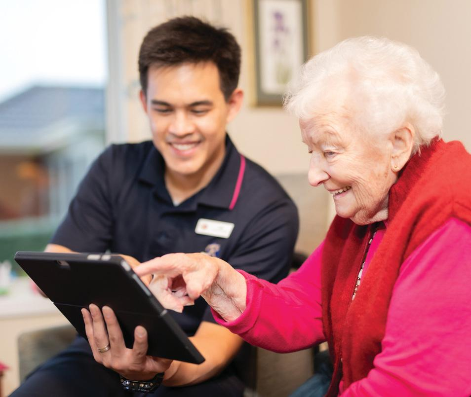 Page 36 of Moving to the aged-care centre