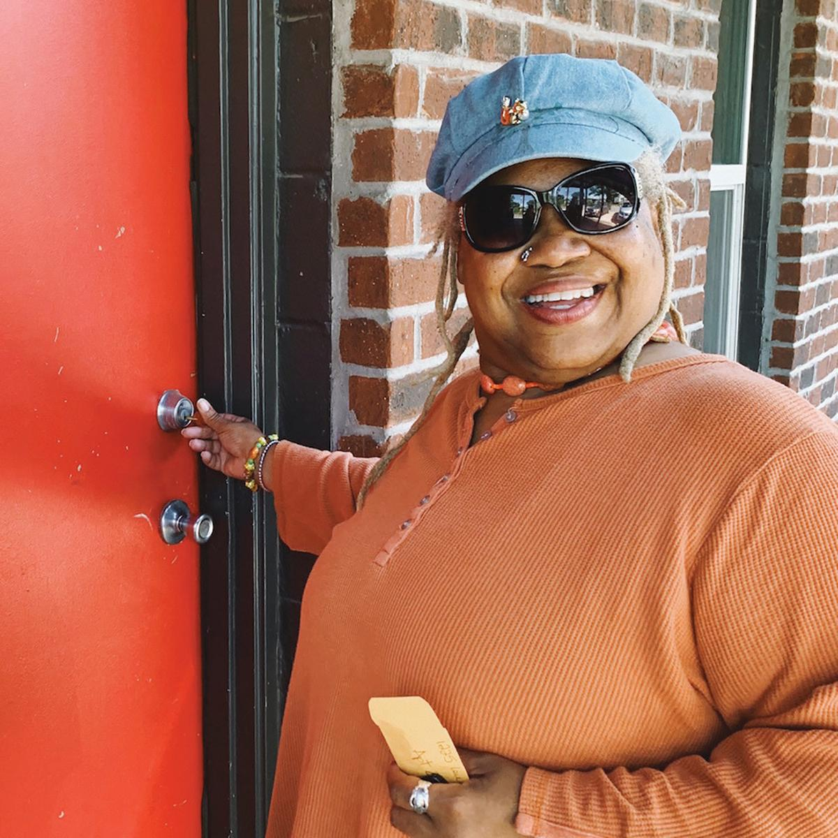 Page 6 of Unlocked gives keys to women climbing out of homelessness