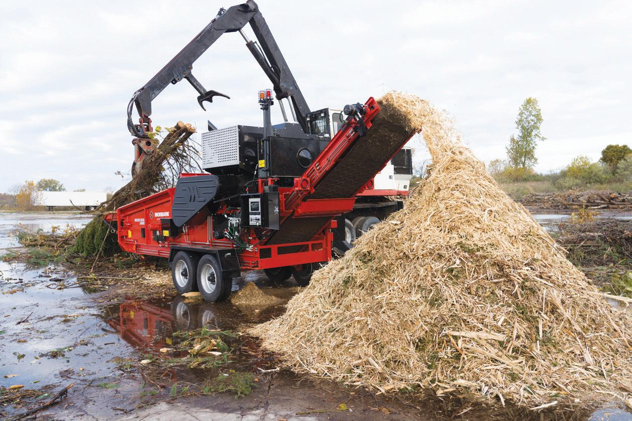 Page 30 of CONEXPO-CON/AGG REVIEW MORBARK INTRODUCES X-SERIES WOOD HOGS