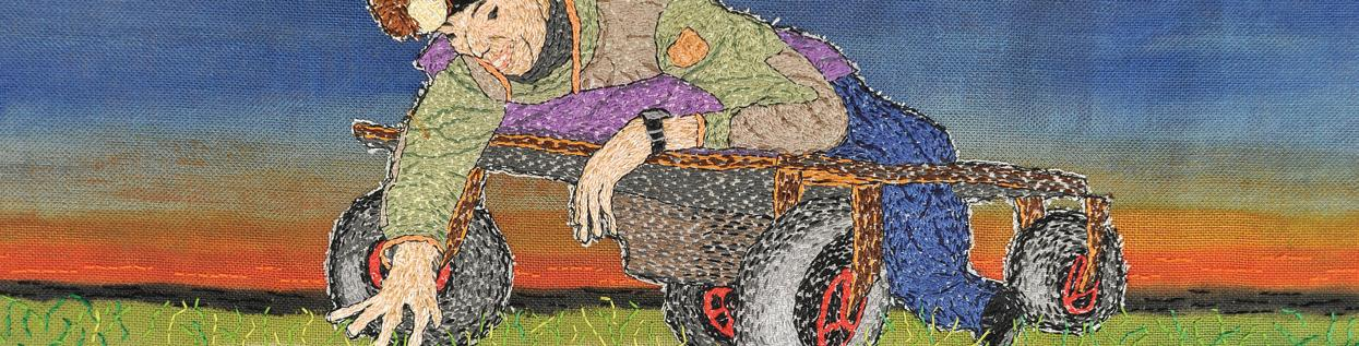 Page 6 of Textielkunstenares Tineke Puyenbroek