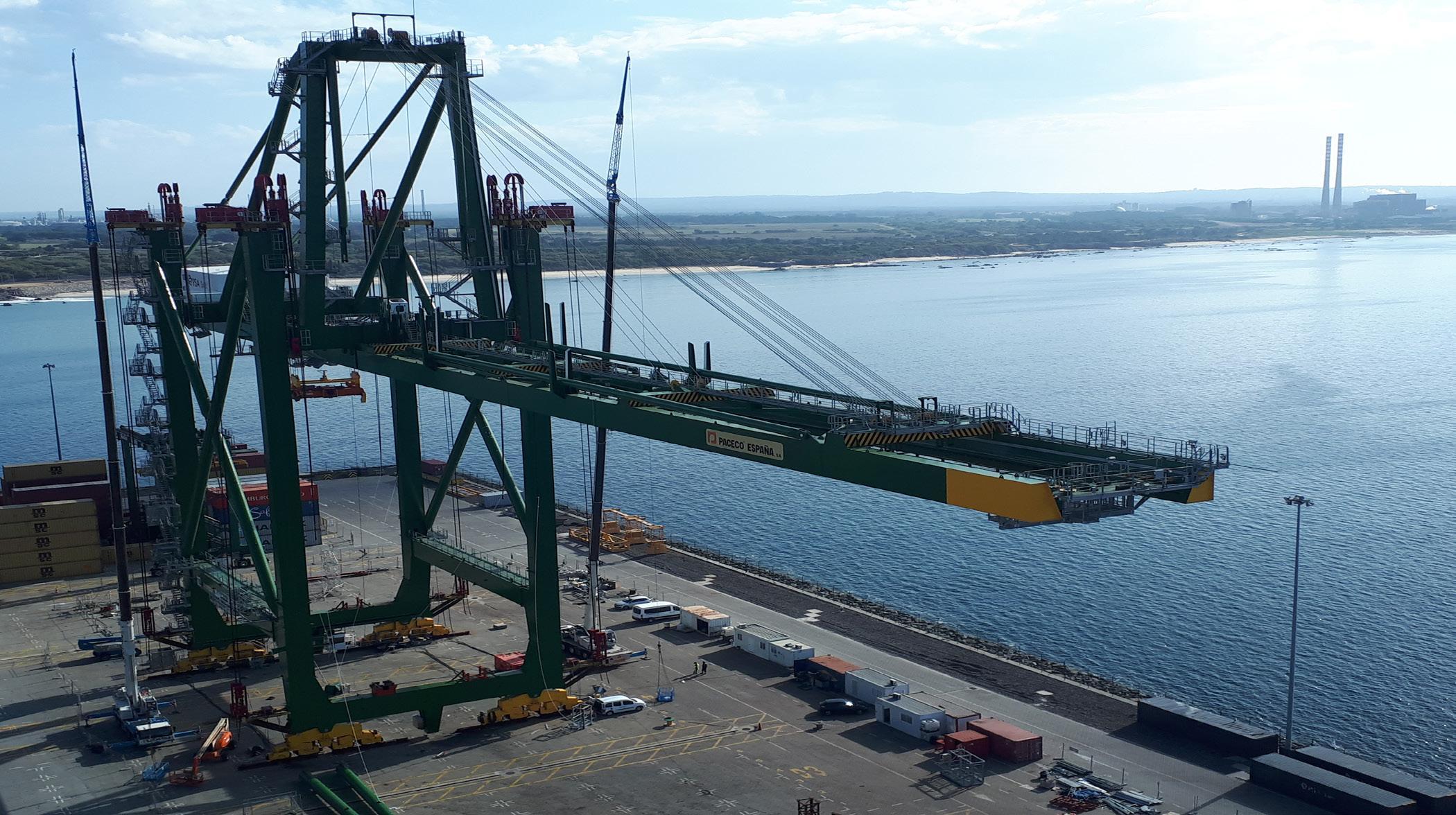 Page 19 of Efficient crane movement minimises port disruption