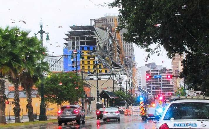 Page 6 of OSHA Cites Engineer, 10 Contractors in Deadly Hard Rock New Orleans Collapse ConstructionDive   04.07.2020 By Kim Slowey