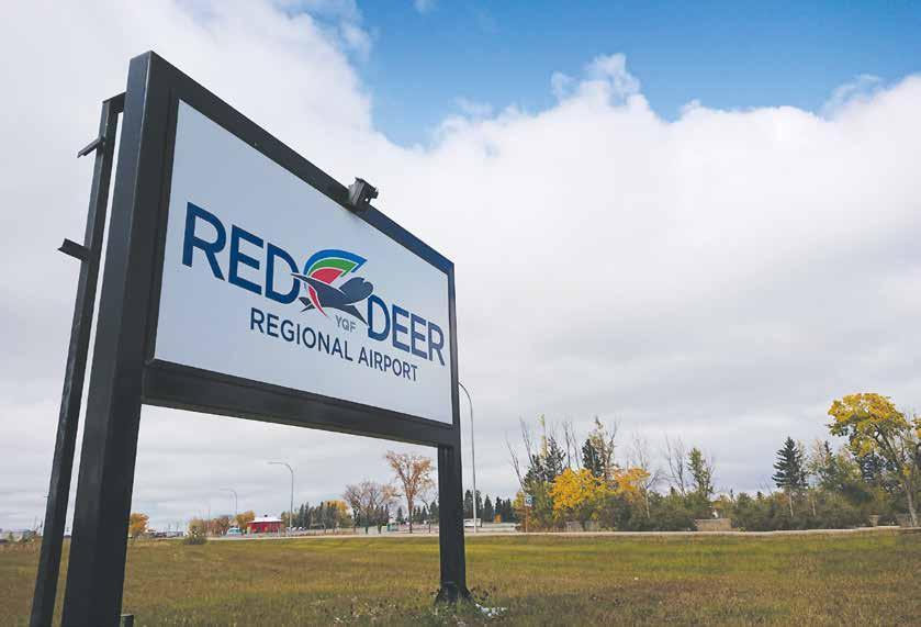 Page 10 of A one-stop shop: Red Deer Regional Airport converts ter inal into FBO