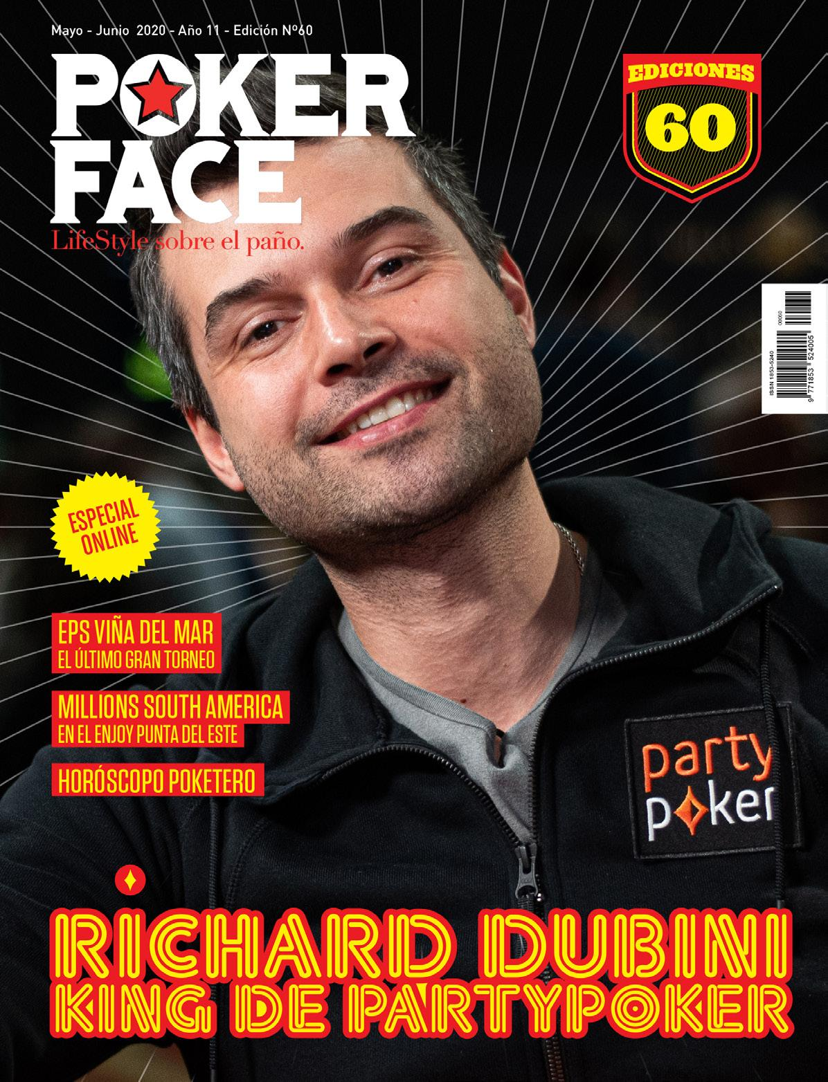 Page 1 of Revista Pokerface Ed #60