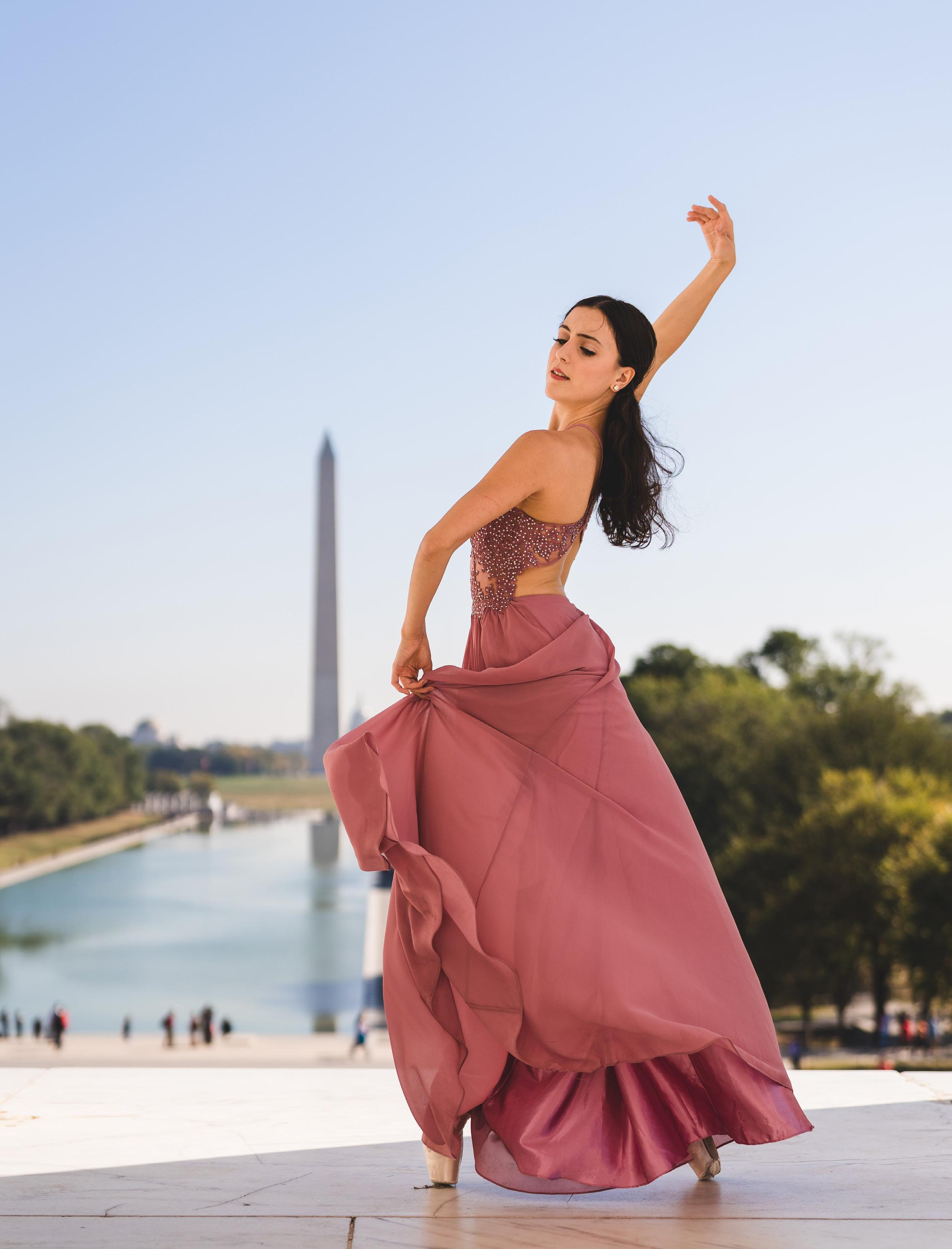 Page 40 of THE WASHINGTON BALLET JETÉ SOCIETY PRESENTS: KATHERINE BARKMAN