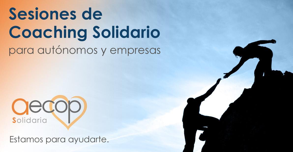 Page 40 of Rincón AECOP Solidaria AECOP Solidaria apoya voluntariamente a autónomos y empresas españolas