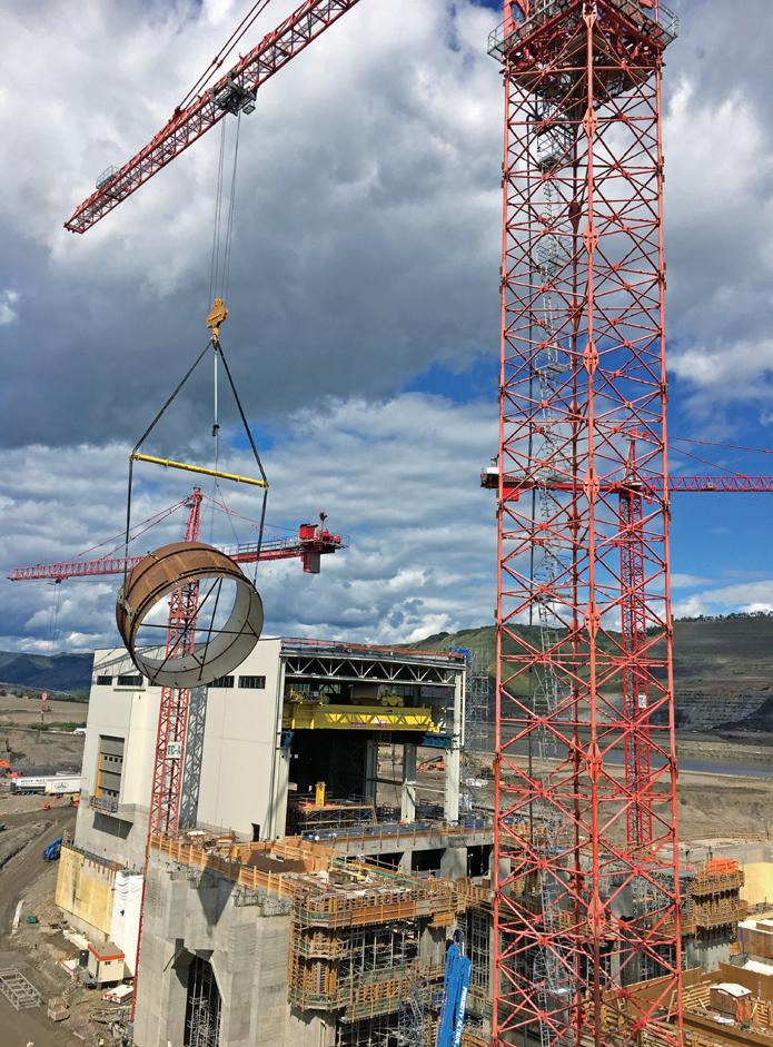 Page 26 of Largest Potain crane in North America expedites B.C. dam project