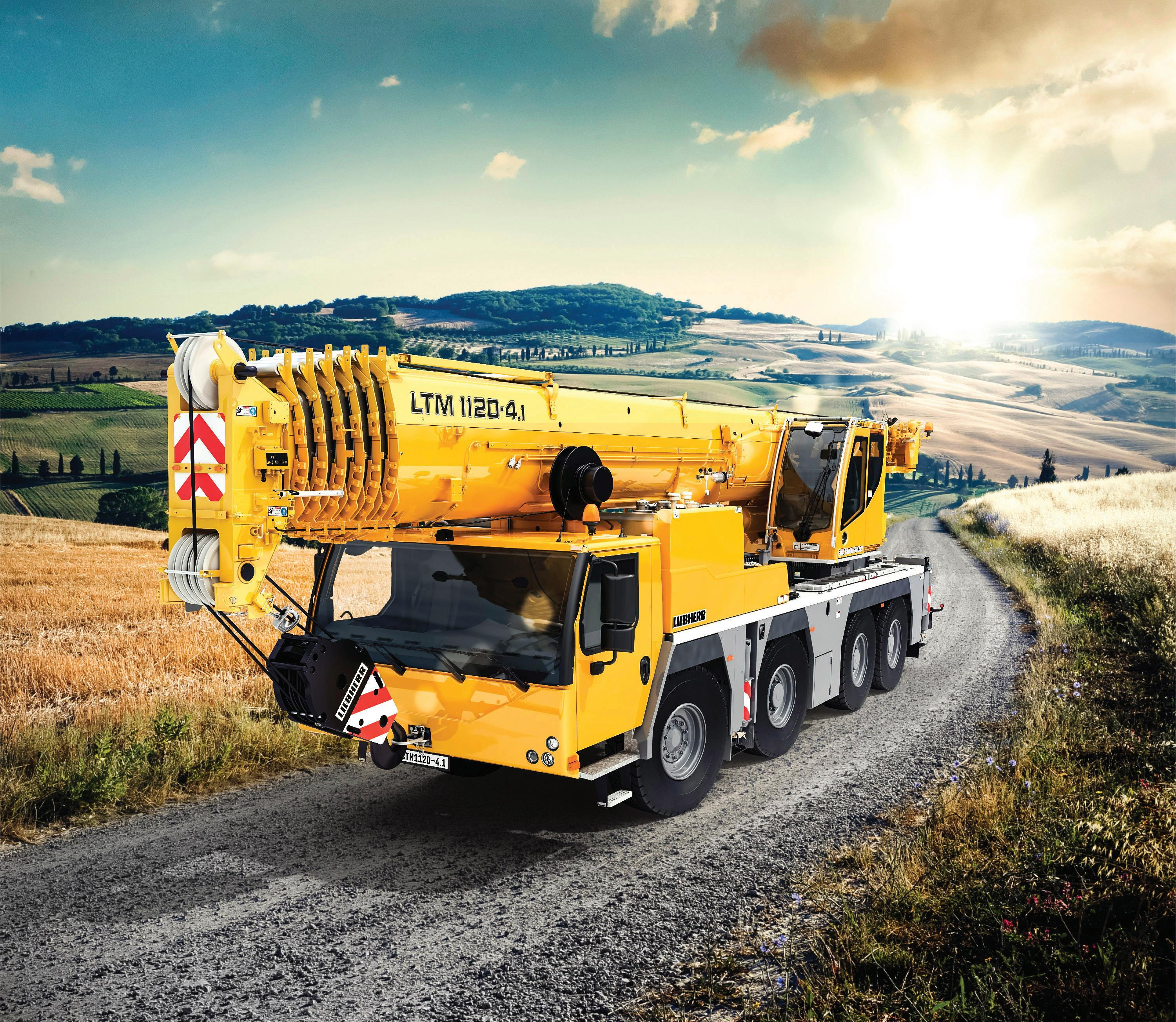 Page 25 of Liebherr launches the most powerful four-axle all-terrain crane ever built