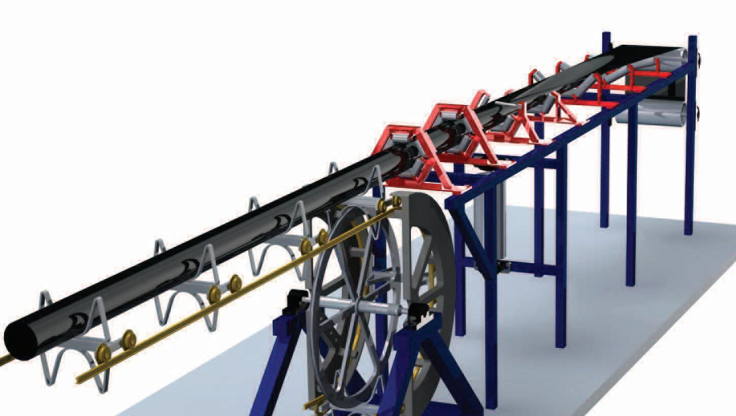 Page 20 of NO PROBLEM WITH THE HAUL ROAD CURVE A curved rail running conveyor may provide an alternative to load and haul vehicles